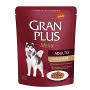 Gran Plus Sache Caes Adulto Menu Carne 100g