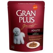 Gran Plus Sache Caes Adultos Gourmet Ovelha 100g