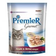 Premier Gatos Sachê Gourmet Atum e Arroz Integral 70g