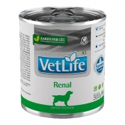 Vet Life Wet Lata Cães Renal 300g