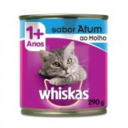 Whiskas Lata Atum Ao Molho 290g