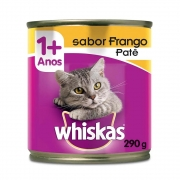 Whiskas Lata Frango Patê 290g