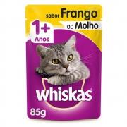 Whiskas Sachê Frango Ao Molho 85g