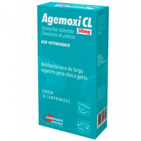 Agemoxi Cl 10 Comprimidos