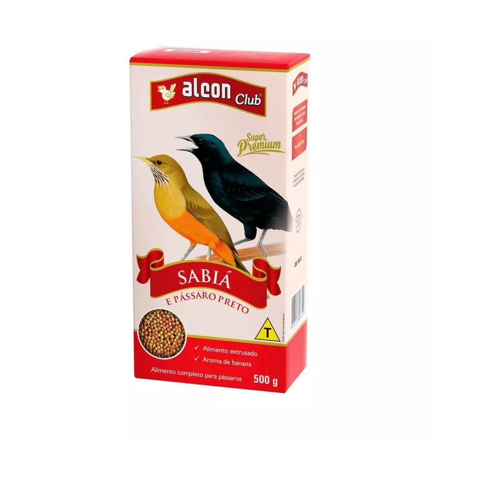 Alcon Club Sabia e Pássaro Preto