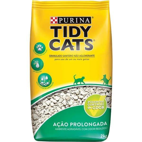 Areia Higiênica Tidy Cat 2Kg