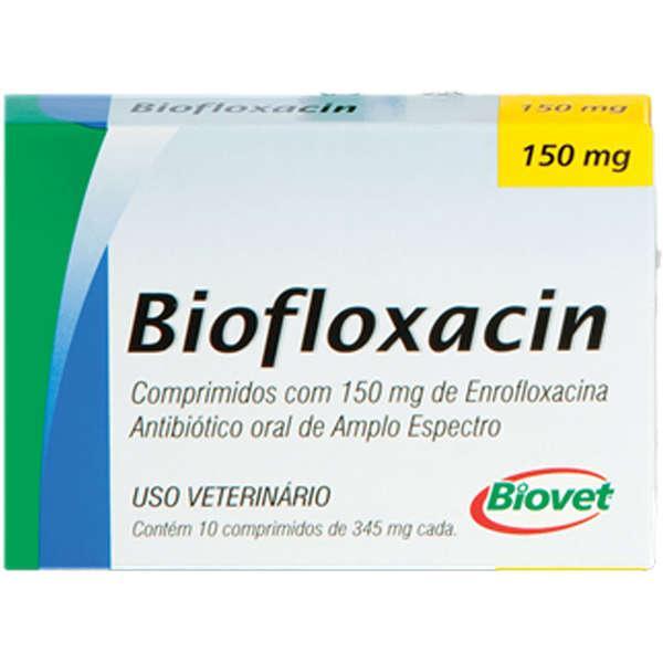 Biovet Biofloxacin 150 Mg - 10 Comprimidos