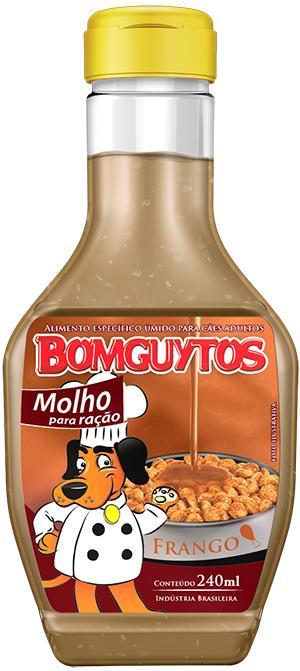 Bomguytos Molho Frango 240ml