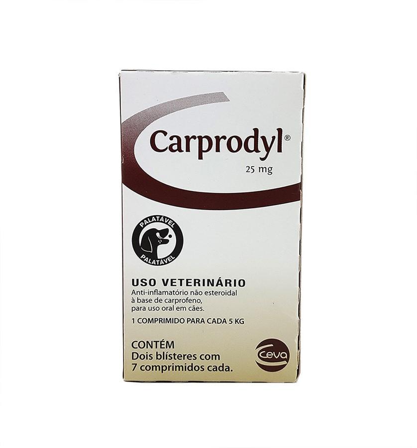 Ceva Carprodyl 25mg - 7 Comprimidos
