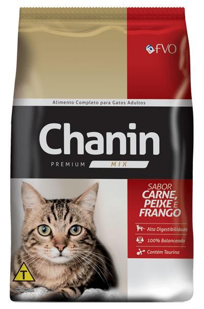 Chanin Gatos Carne/Peixe/Frango