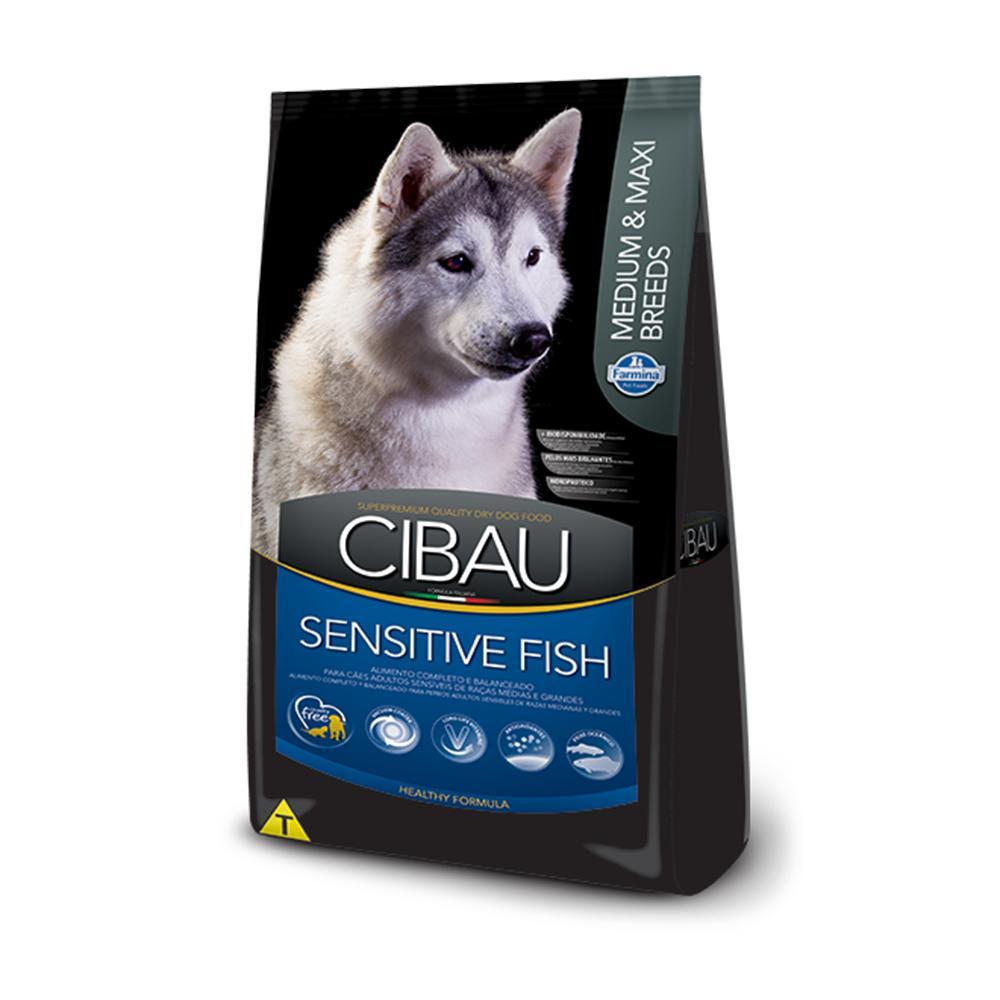 Cibau Adult Sensitive Fish Rice Med/Gran 12kg