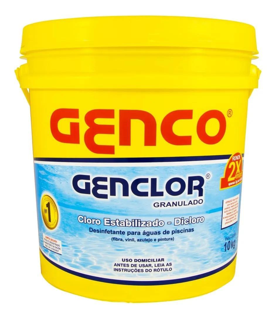 Cloro Estabilizado Genclor 10Kg