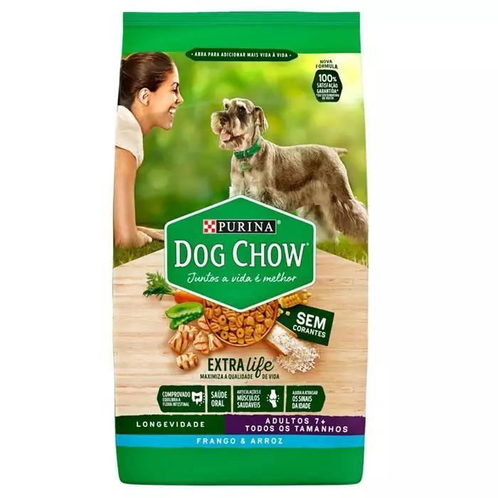 Dog Chow Extra Life 7+ Todos/Tam Frango 15kg