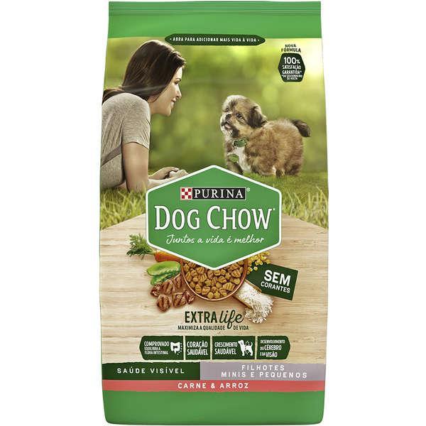 Dog Chow Extra Life Filh Mini/Peq Carne