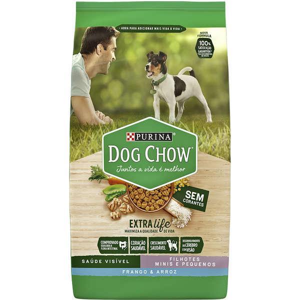 Dog Chow Extra Life Filh Mini/Peq Frango