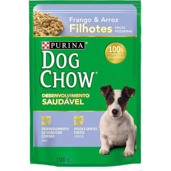 Dog Chow Sache Filhotes Frango R/P 100g