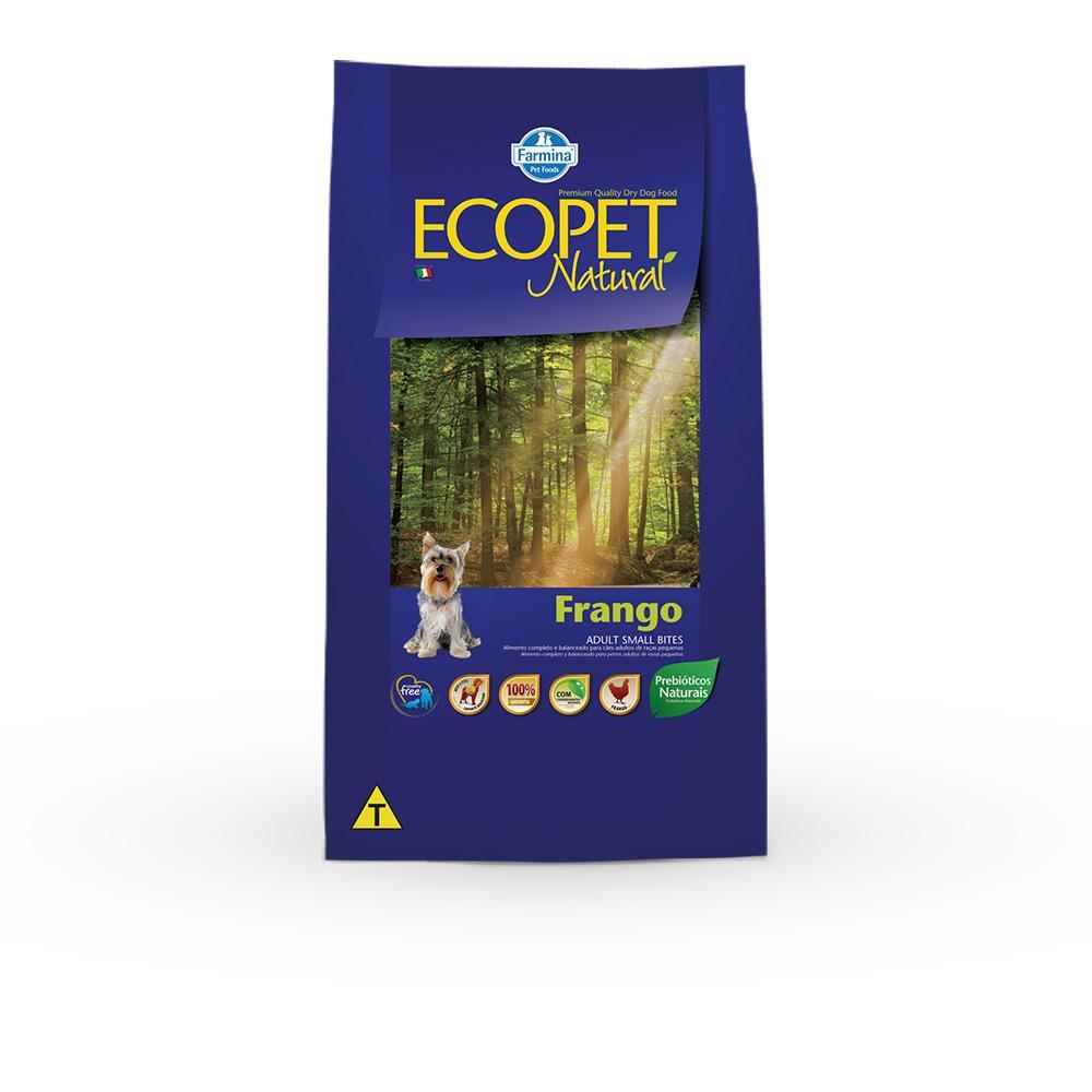 Ecopet Adulto Frango Mini Bits 15Kg