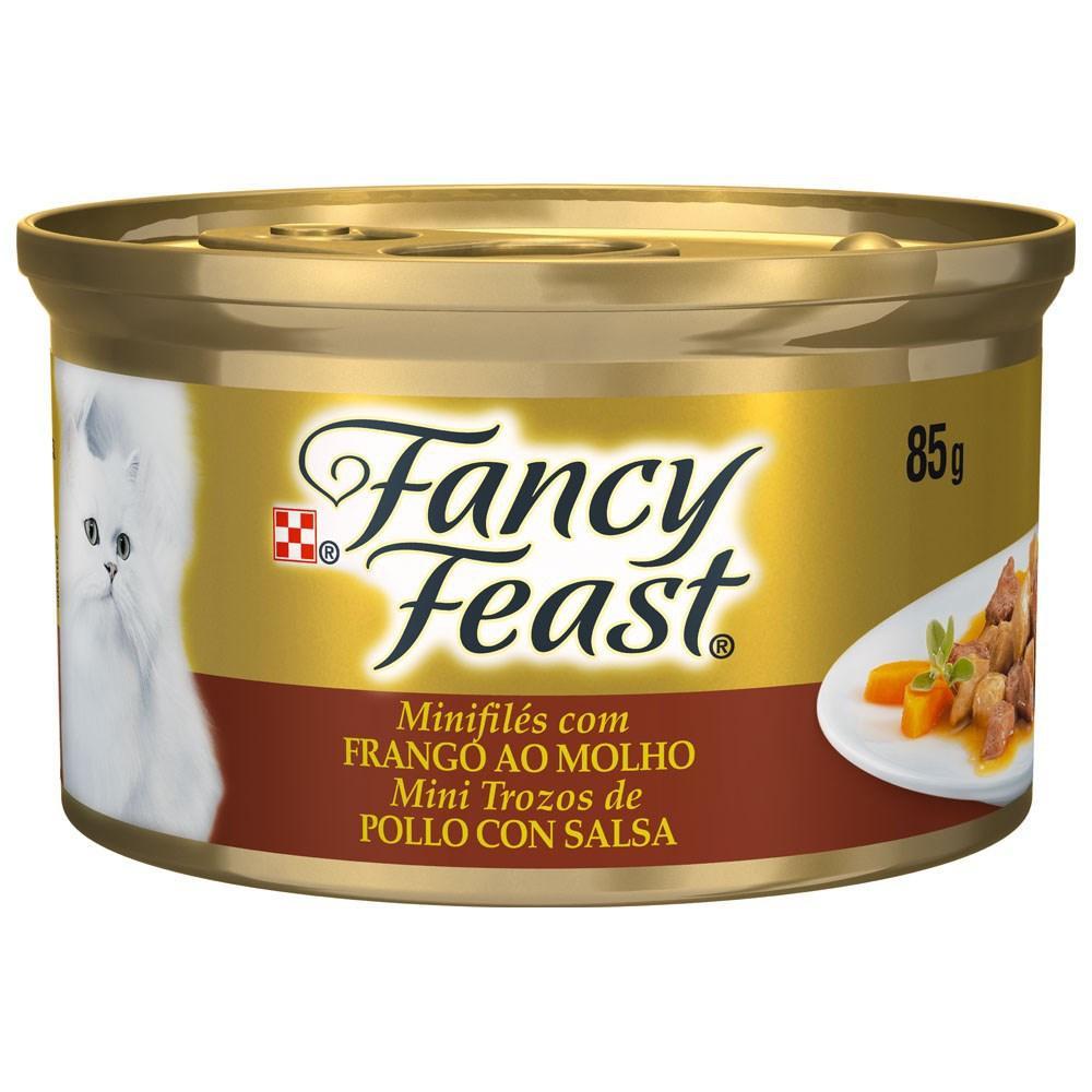 Fancy Feast Lata Frango ao Molho 85g