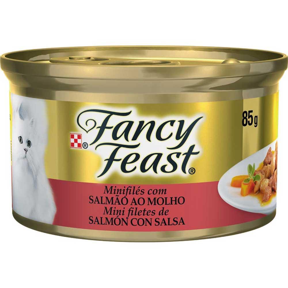 Fancy Feast Lata Salmão 85g