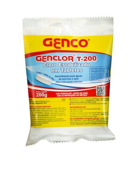 Genco Cloro Estabilizado Tablete 200g