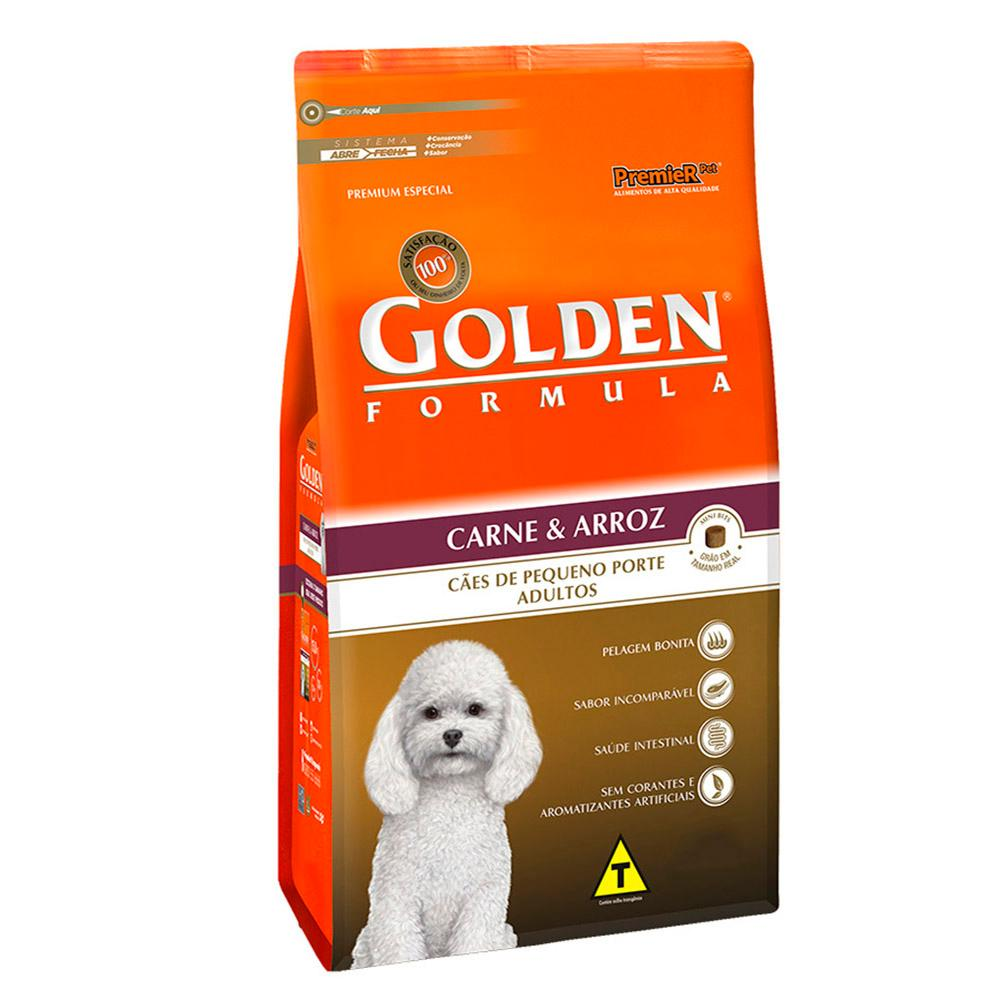 Golden Caes Adulto Carne Mini Bits