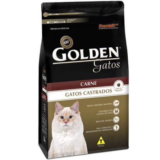 Golden Gatos Adultos Castrado Carne