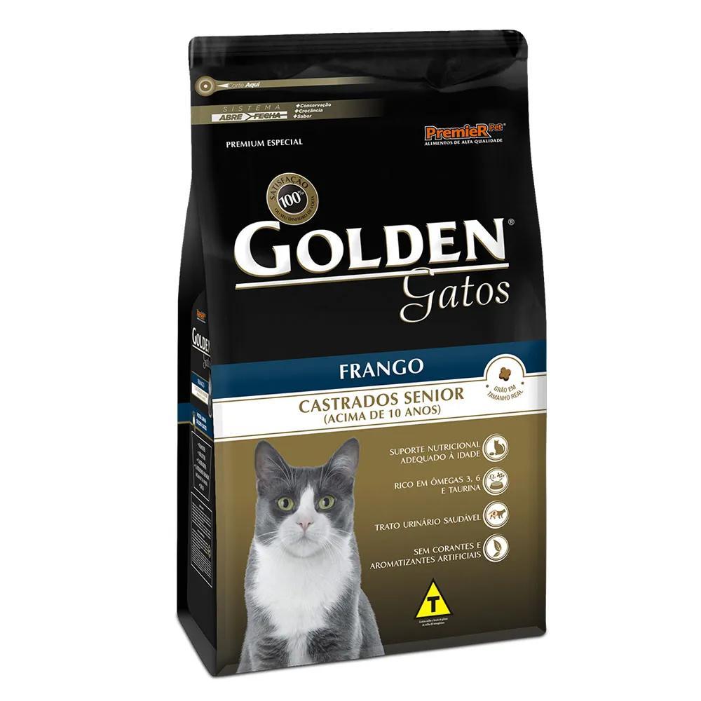 Golden Gatos Castrados Senior