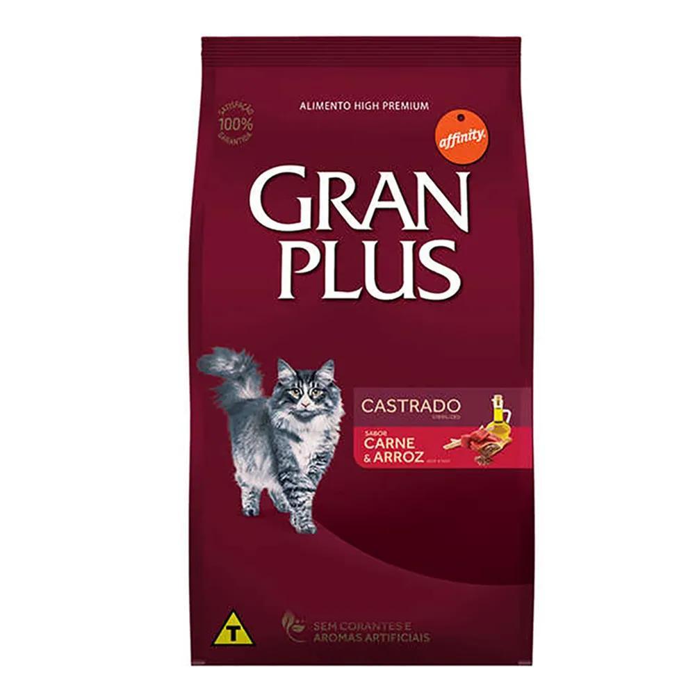 Gran Plus Gato Castrado Carne 3kg
