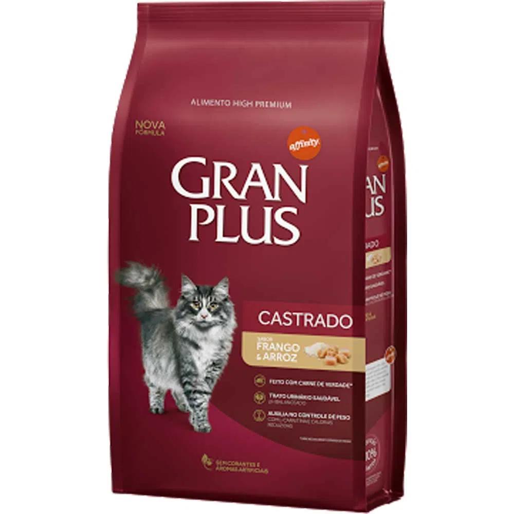 Gran Plus Gato Castrado Frango