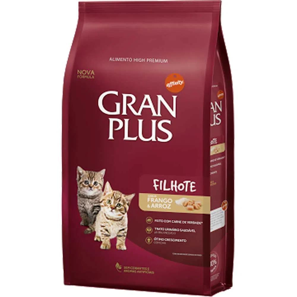 Gran Plus Gato Filhote Frango