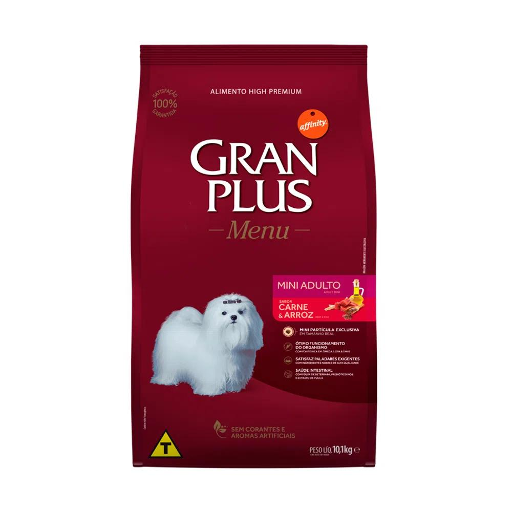 Gran Plus Menu Caes Adultos Mini Carne
