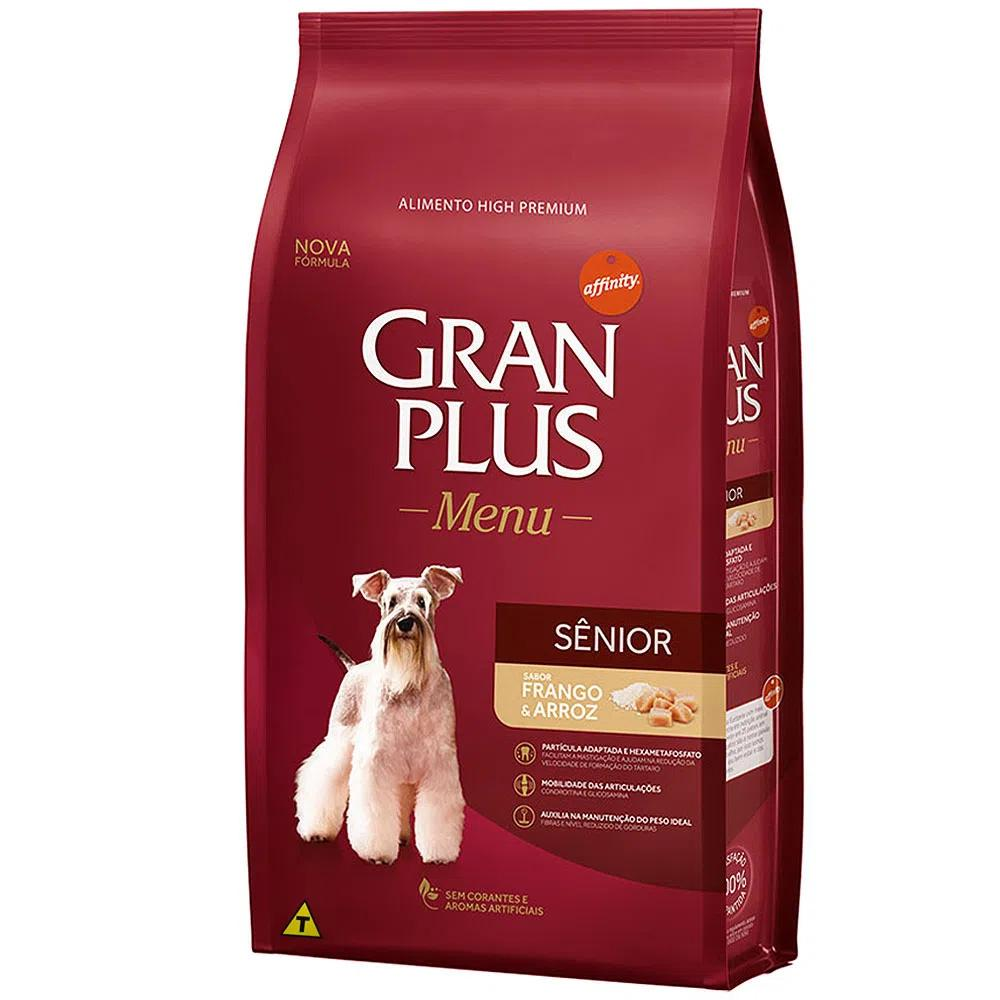 Gran Plus Menu Caes Senior