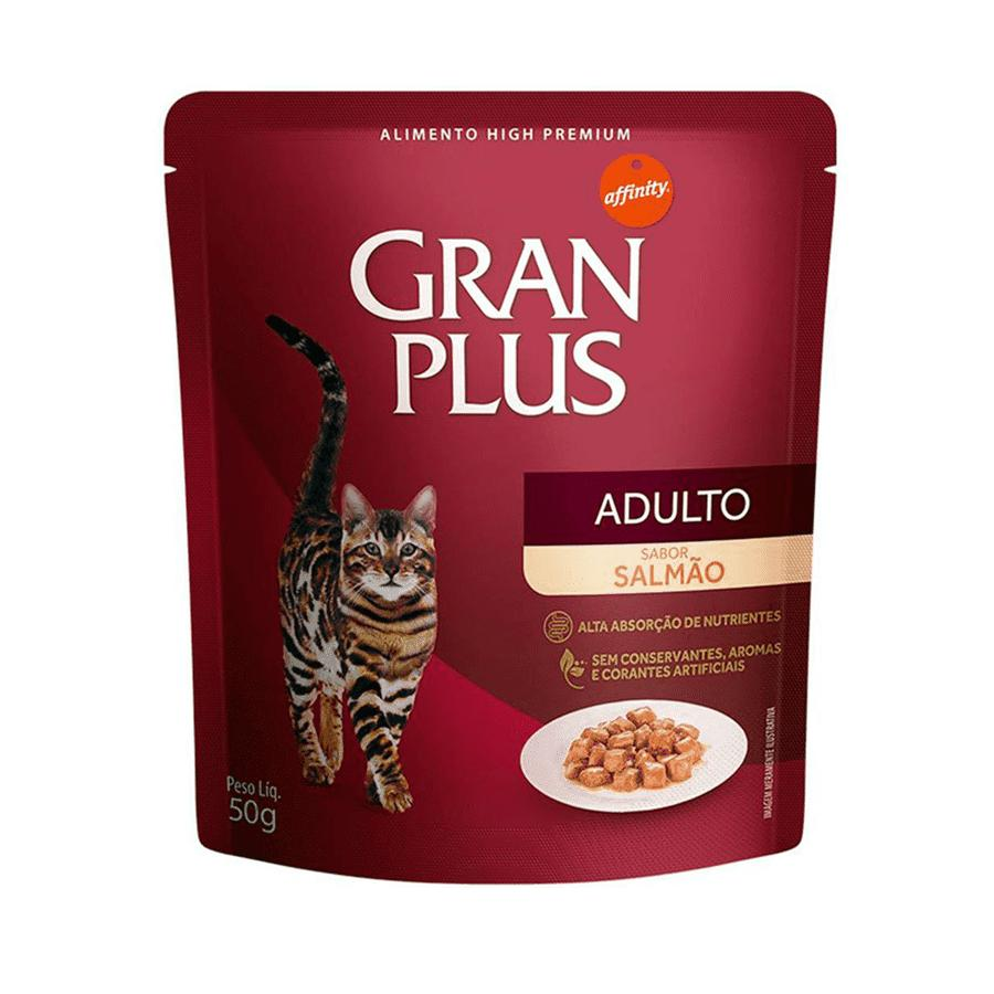 Gran Plus Sache Gato Salmão 85g