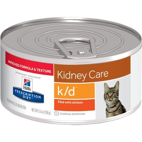 Hill's Feline Prescription K/D Lata 82g