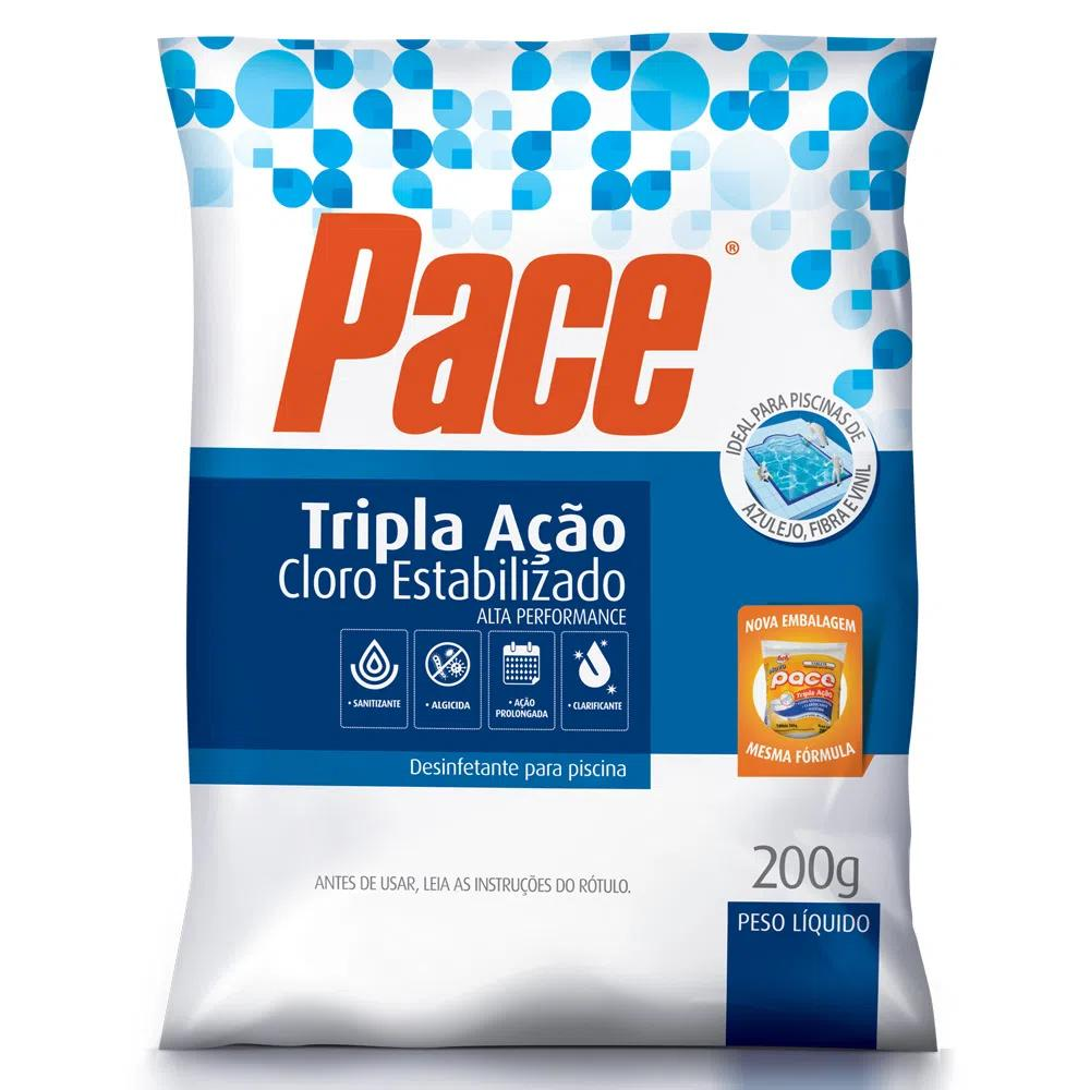 HTH PACE Tablete TRIPLA AÇAO 200G