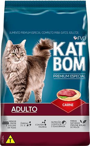 Katbom Gato Carne