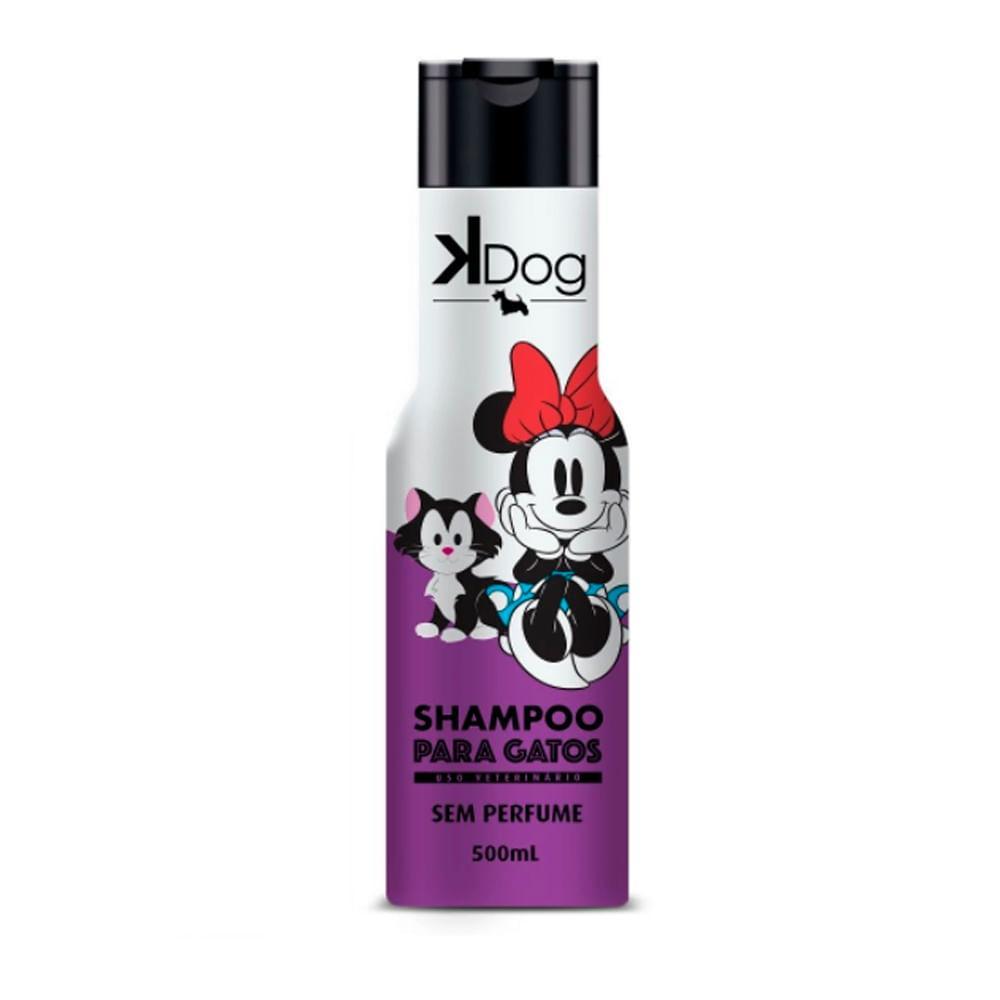 Kdog Disney Shampoo Gatos 500ml