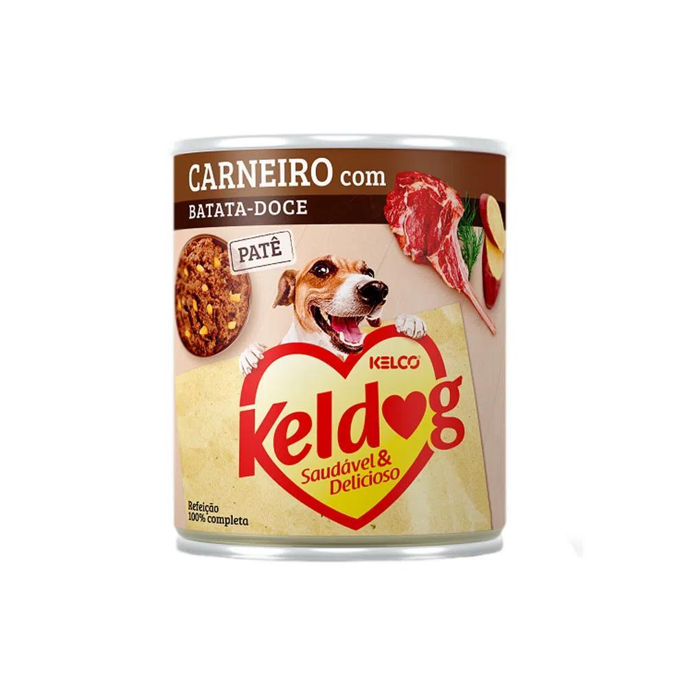 Kelco Keldog Lata Carneiro/Batata Doce 280g