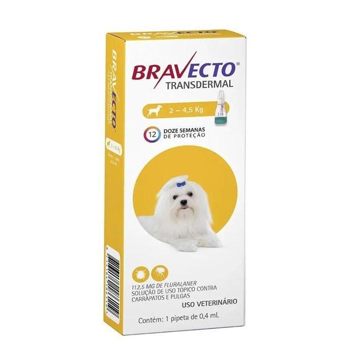 Mds Bravecto Transdermal Cães