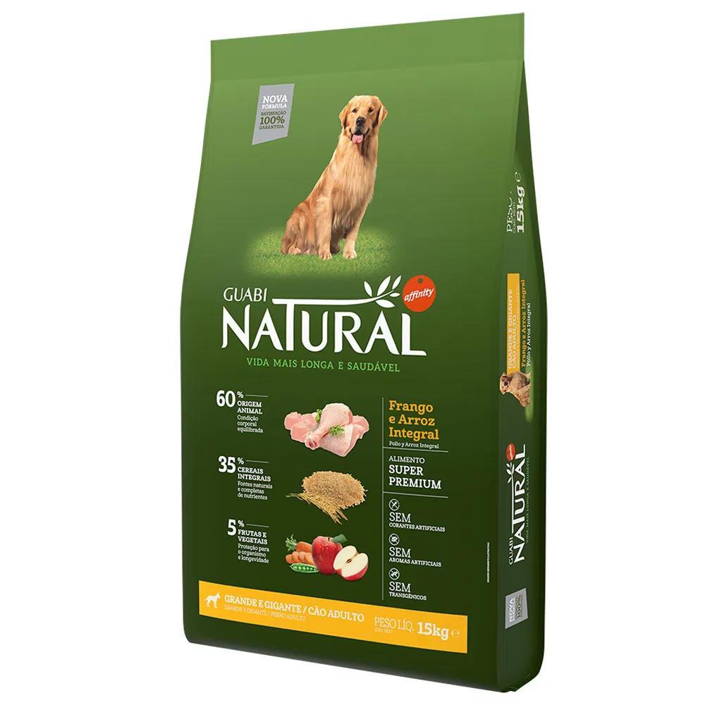 Natural Cães Adultos Grande e Gigantes Frango e Arroz