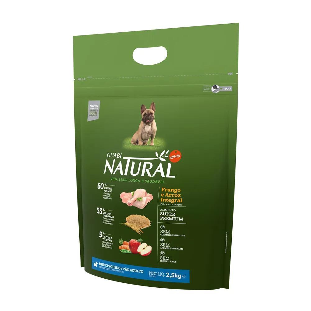 Natural Cães Adultos Raças Mini e Pequenos Grain Free Frango e Lentilha