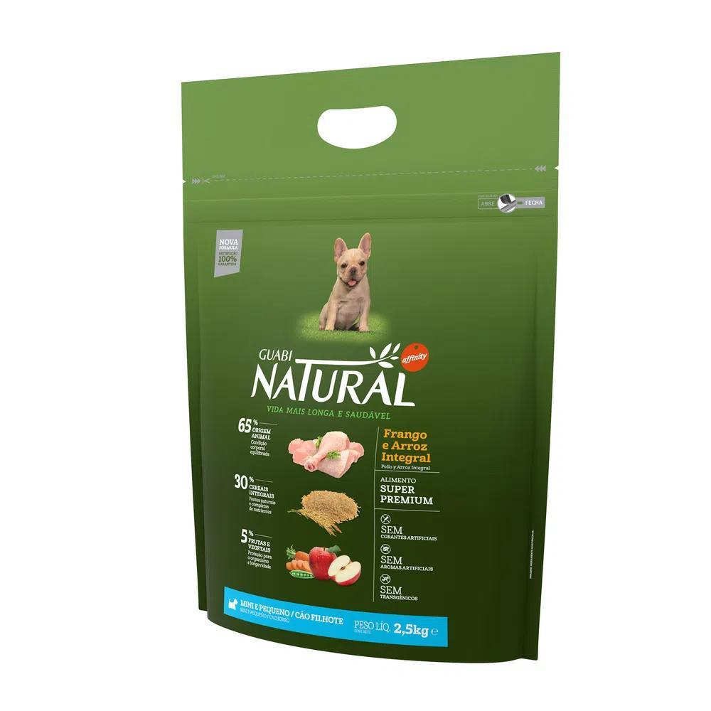 Natural Cães Filhote Raças Mini e Pequenos Frango e Arroz