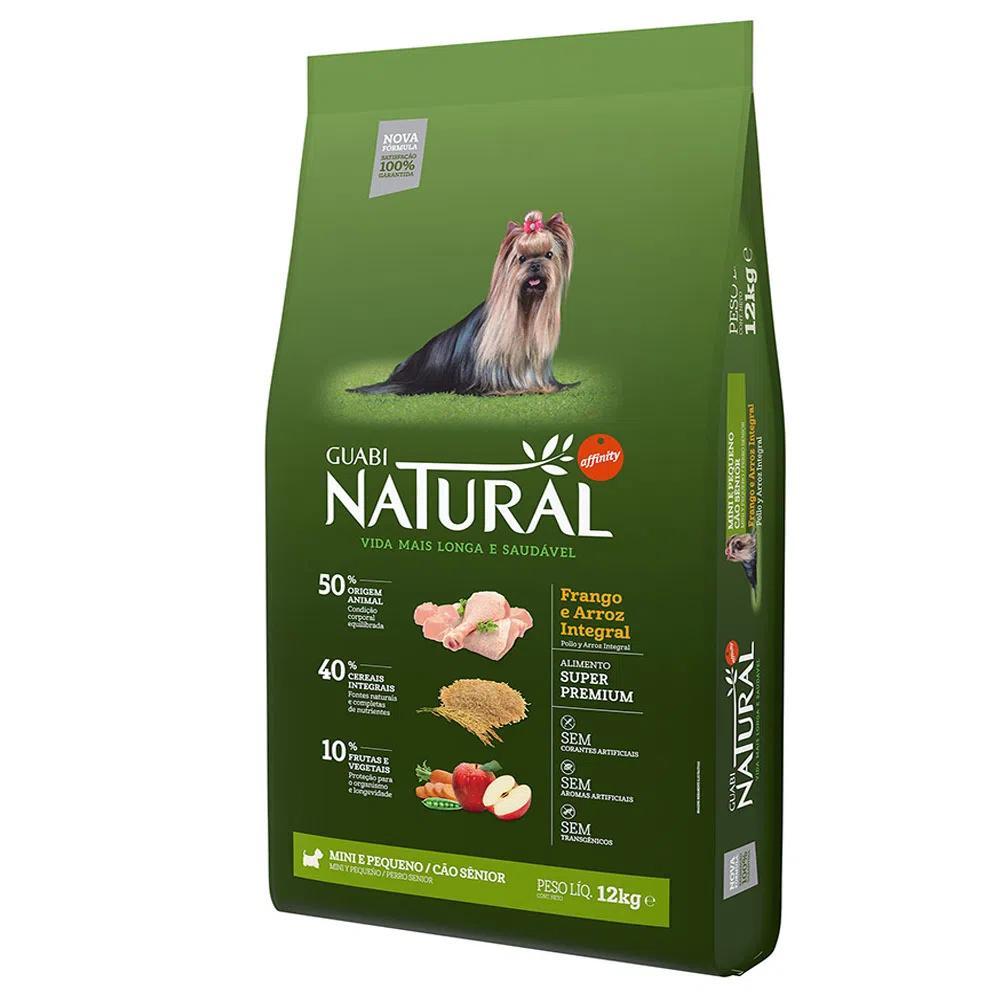 Natural Cães Sênior Mini e Pequenos Frango e Arroz