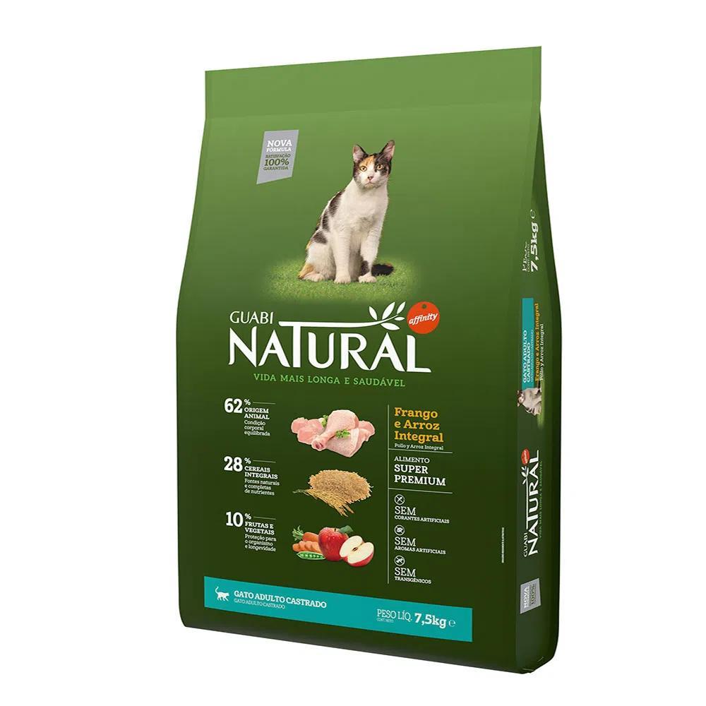 Natural Gatos CastradosGrain Free Frango e Arroz