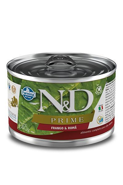 NED Prime Lata Cães Adultos frango/Romã 140g
