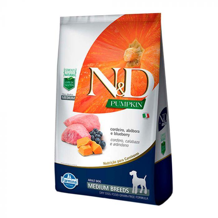 NED Pumpkin Cães Adultos Cordeiro/Abóbora Medium