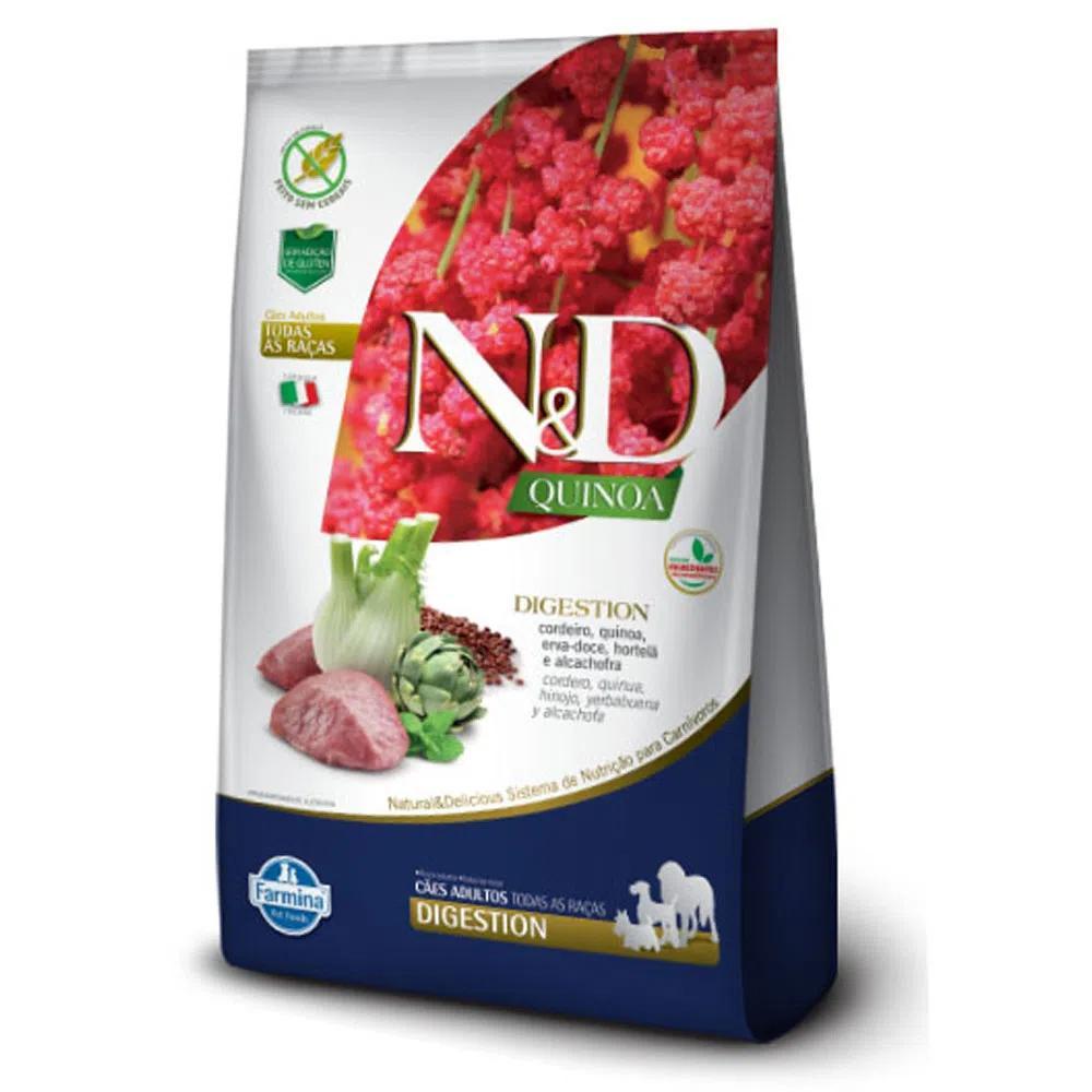 NED Quinoa Cães Adultos Digestion Cordeiro