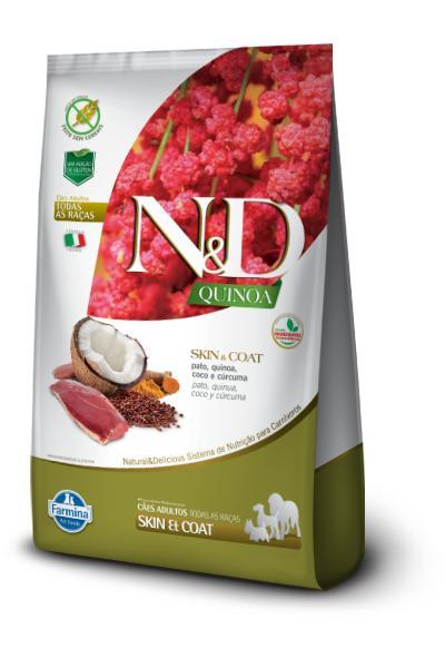 NED Quinoa Cães Adultos Skin e Coat Pato
