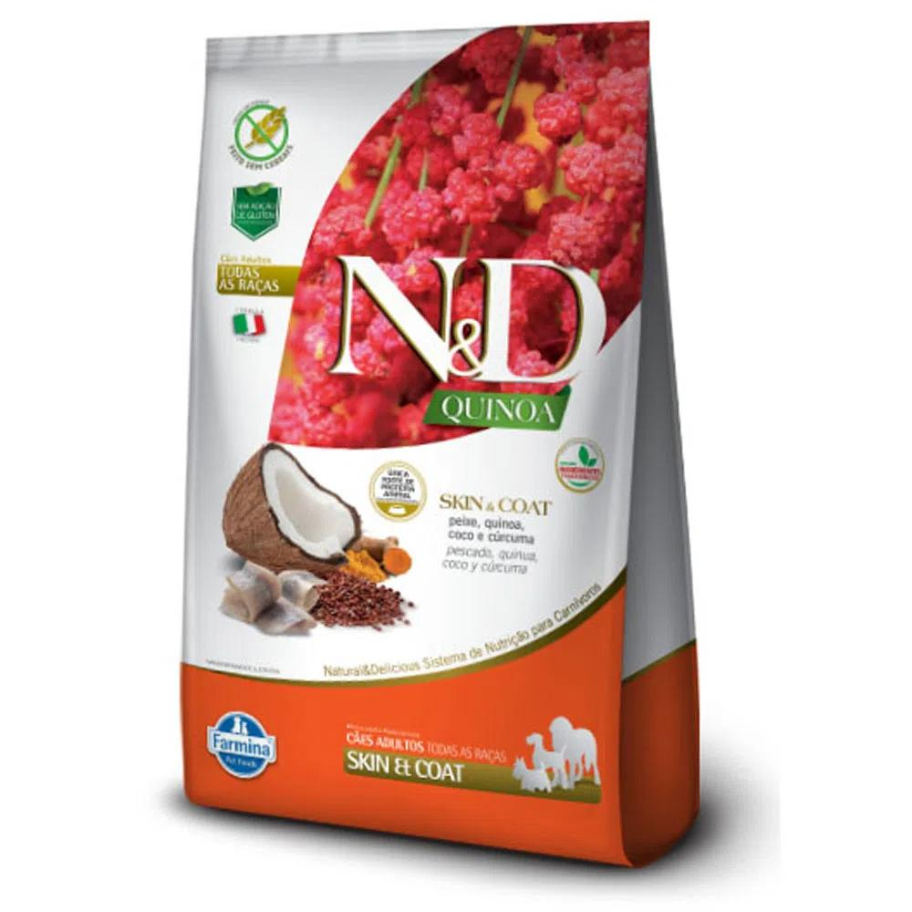 NED Quinoa Cães Adultos Skin e Coat Peixe