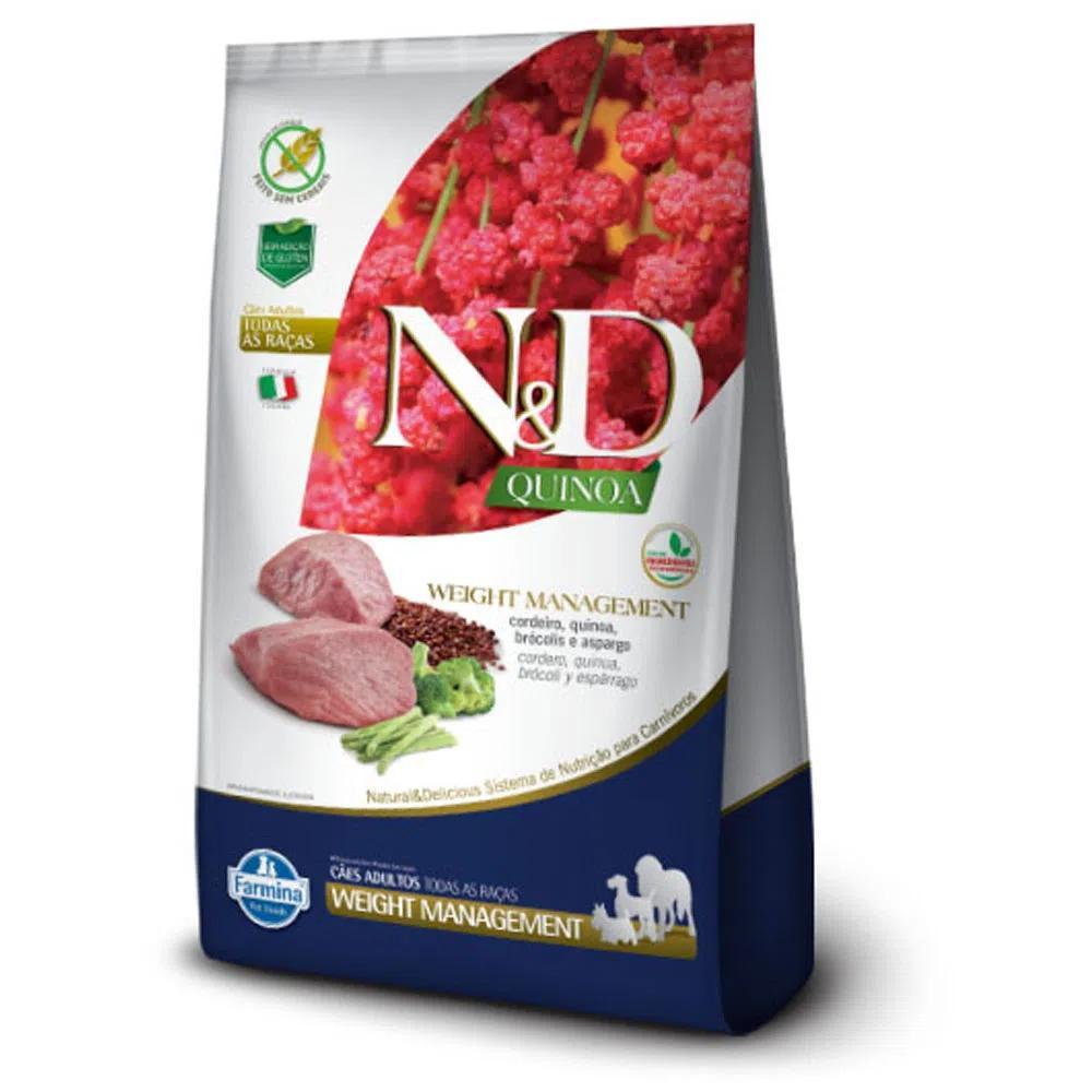 NED Quinoa Cães Adultos Weight Management Cordeiro